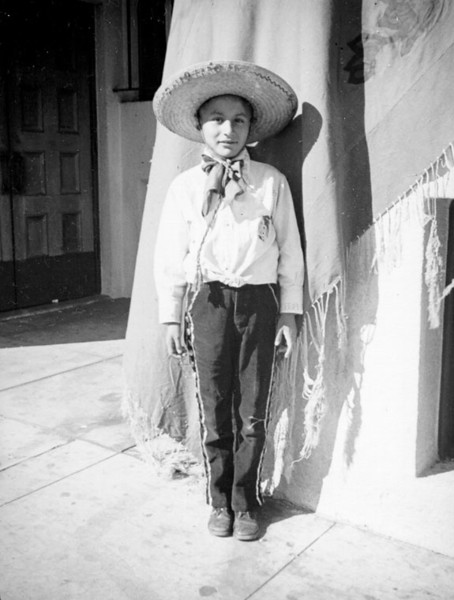 1937, Boy in Mexican Outfit