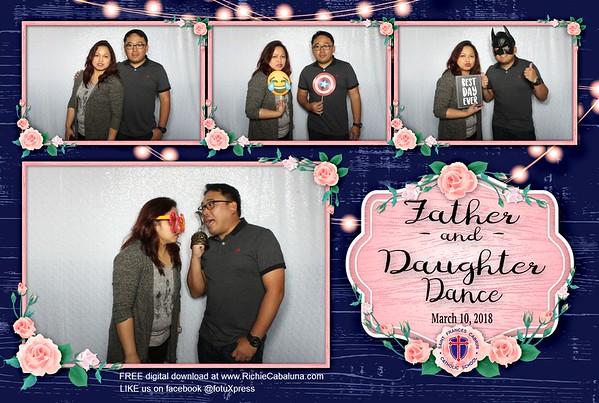 Saint Frances Cabrini Father Daughter Dance 2018