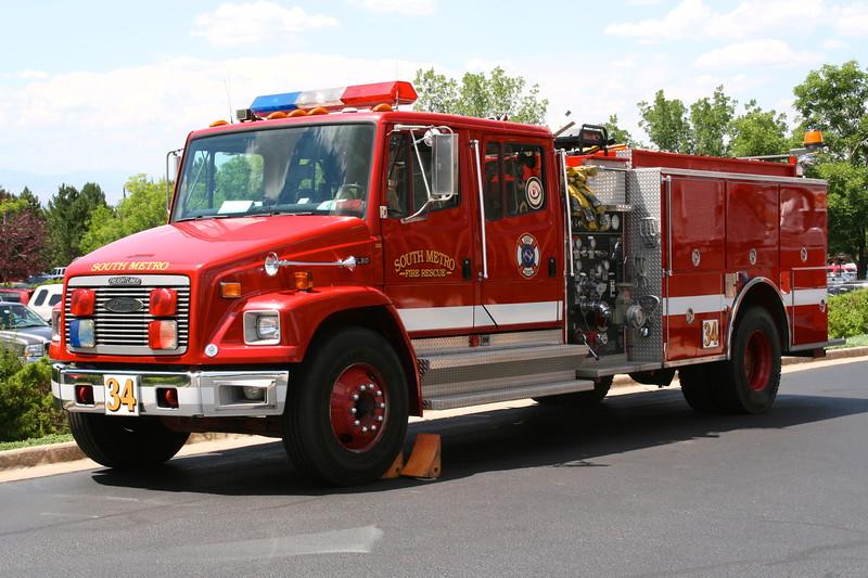 Reserve Engine Running as Engine 34