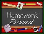 2018 Homework Board