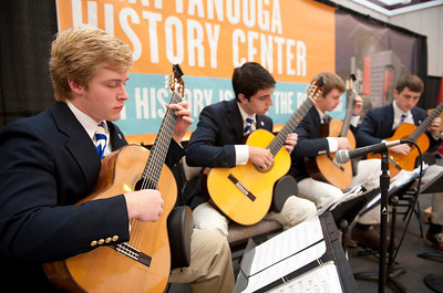 McCallie Guitar Quartet - Fall Performances