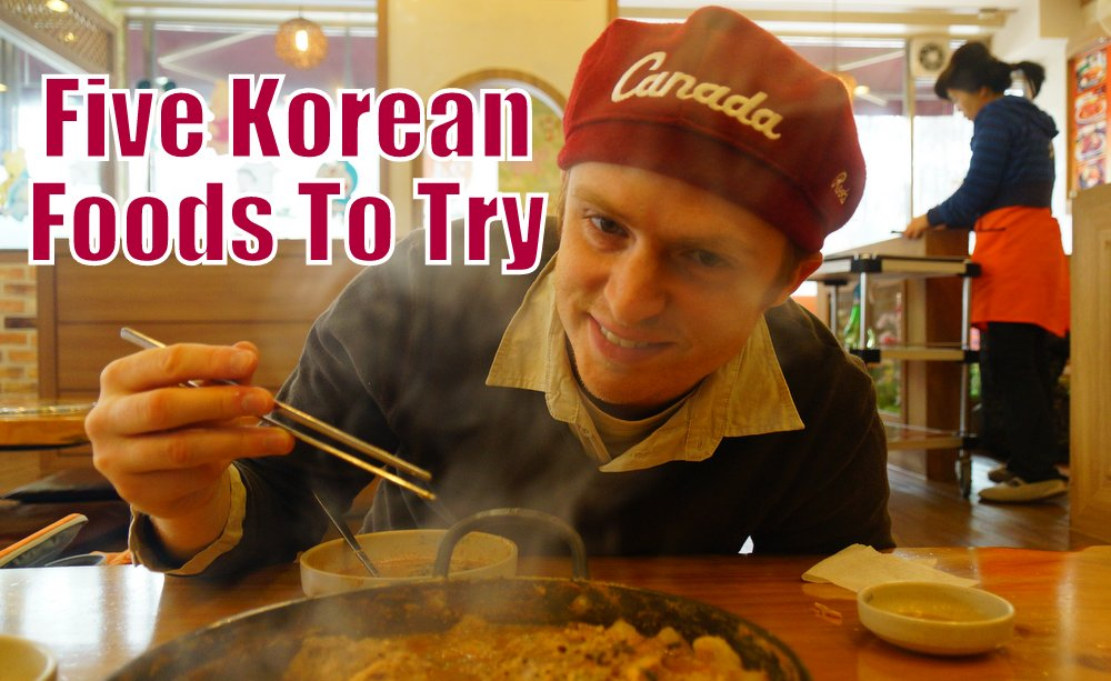 Five Korean Foods To Try