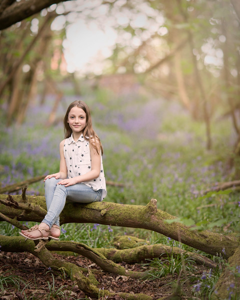 2018 - Family Norwood bluebell shoot 001
