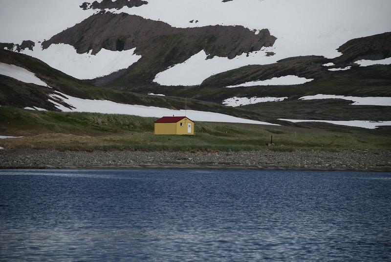 Aðalvík - Látrar. Neyðarskýlið 2014.