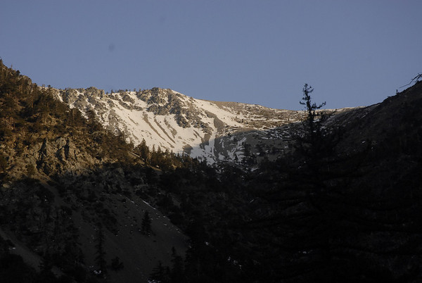 Mt. Baldy March 25, 2009