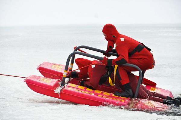 2-12-11 Wyckoff - Ice Rescue Drill