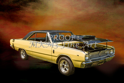 Dodge Dart Photographic Print by M K Miller