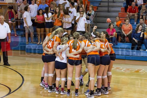 Orange City University @ Boone Braves Girls Varsity Volleyball Regional Final - 2014
