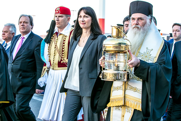 Easter, Arrival of Holy Flame to Athens, My Greek Odossey. 2017