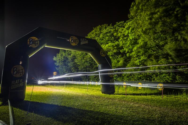 Light trails during Mountain Mayhem 2015