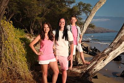 Fawks Family Portraits Maui Jan 2015