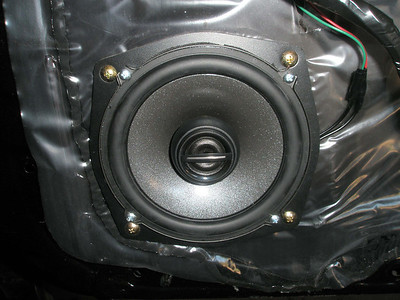 2004 Mitsubishi Lancer VRX Front Speaker Installation - Australia