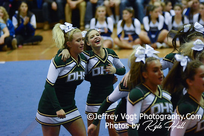 11-15-2014 Damascus HS Varsity Cheerleading at Blair HS MCPS Championship, Photos by Jeffrey Vogt Photography with Kyle Hall