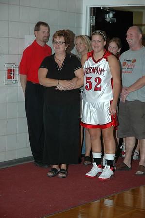 Girls Varsity Basketball  - 2005-2006 - 10/4/2005 vs. Grant (Parent's Night) JG