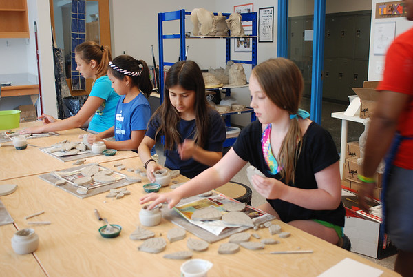 Middle School Clay Class
