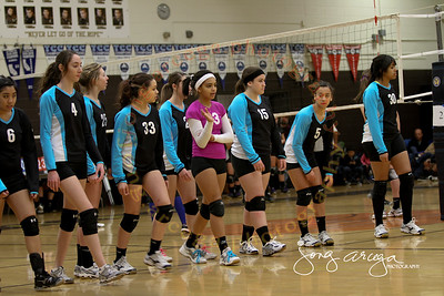 2012 Club Solano Volleyball-First Game
