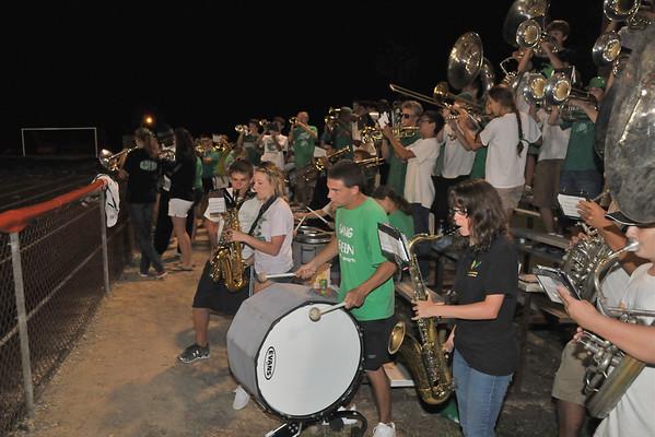2010-09-10: Cary v Fuquay pep band