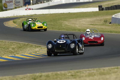2006-06-03&04 Wine Country Classic Infineon Group 3 1955-60 Sports Racing Cars