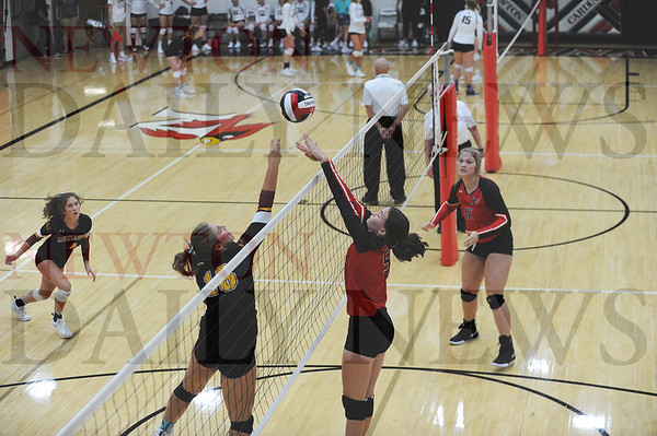 Newton, PCM  volleyball at NHS tourney 8-27-2019