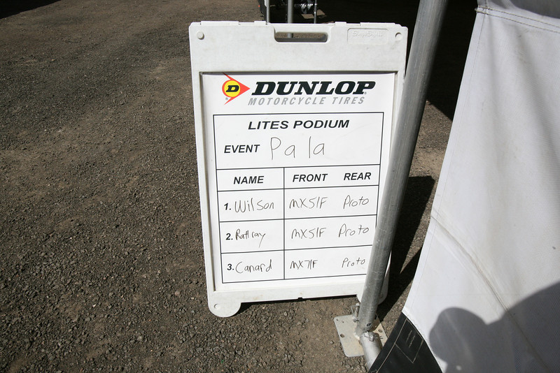 I thought this was interesting to see what tires the top guys were using.