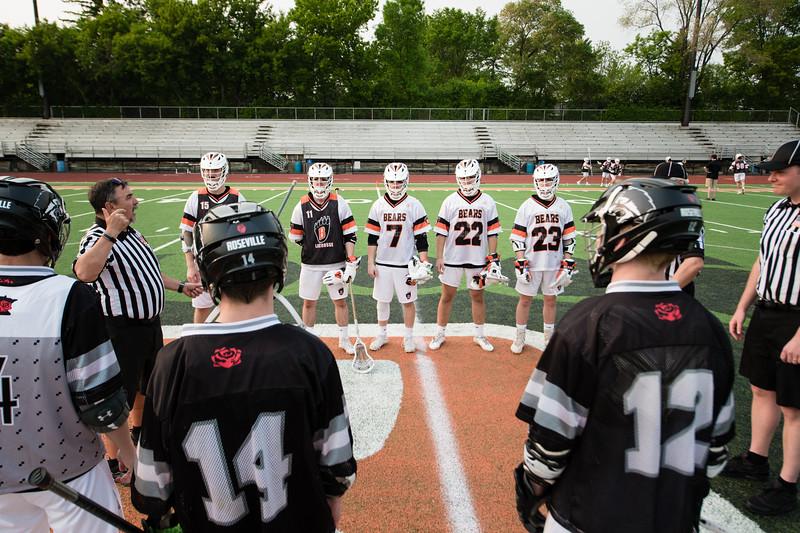 WBL Boys Lacrosse 1st Playoff -V- Roseville 2019
