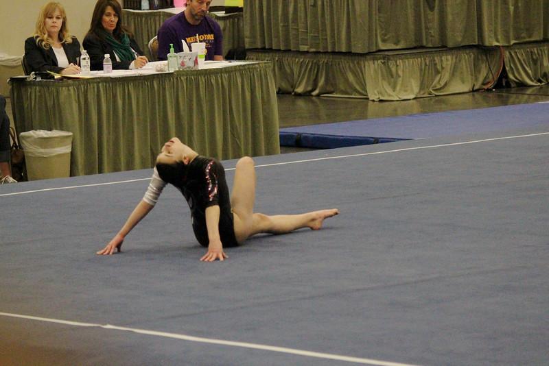 Grace on Floor @ Springfield Women's Gymnastics Tournament