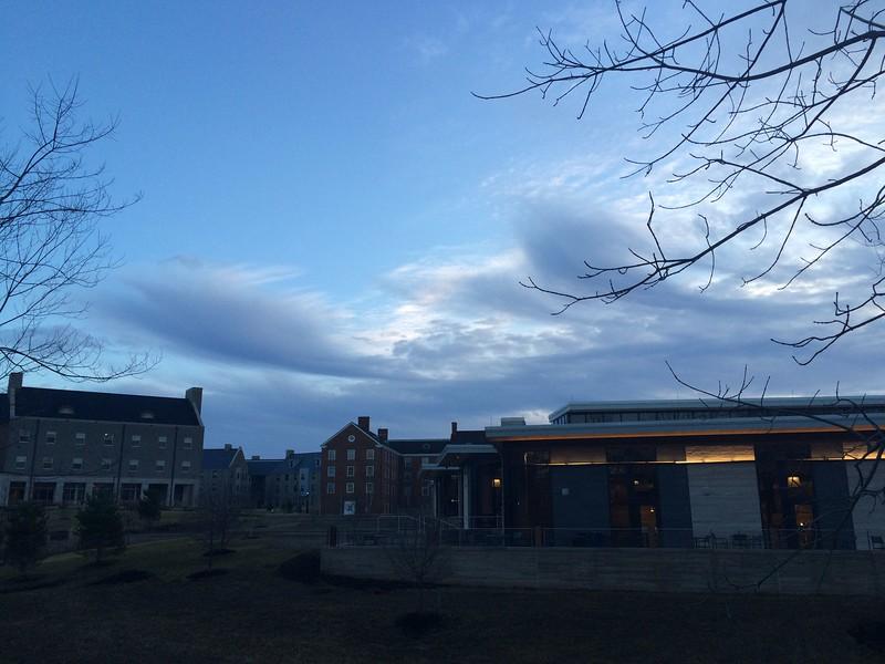 Pretty Morning on Western Campus