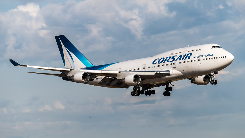 Corsair / Boeing B747-422 / F-GTUI
