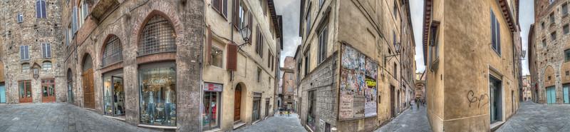 Via Calzoleria - Siena, Italy - April 5, 2015
