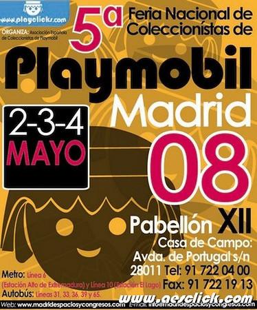 5º Feria Nacional de Coleccionistas de Playmobil