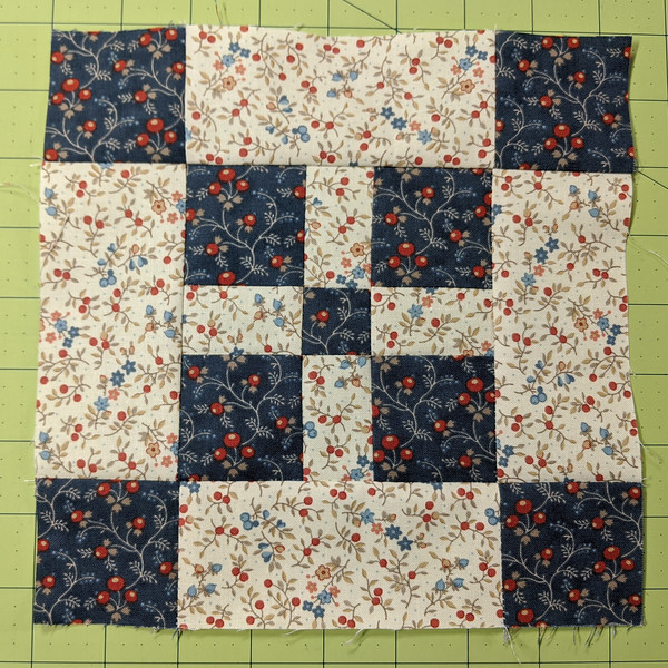 Block 23: The Comfort Quilt, completed Dec. 31, 2019