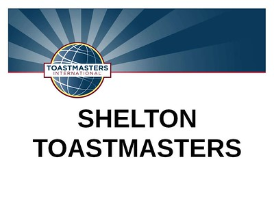 Toastmasters at the Tower