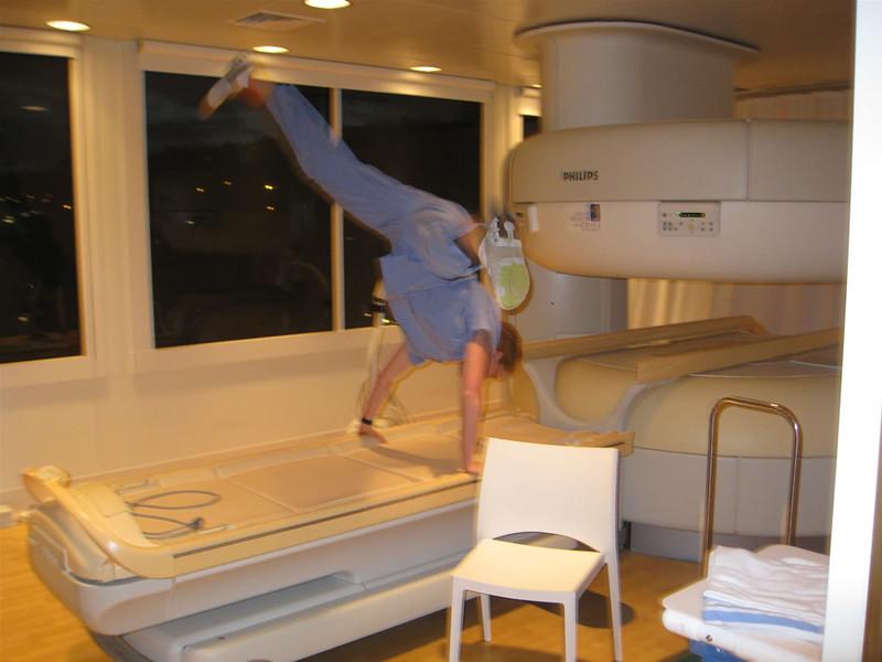 Stacee Calderon - MRI Scanner, OHSU, Portland, OR - 7/2008