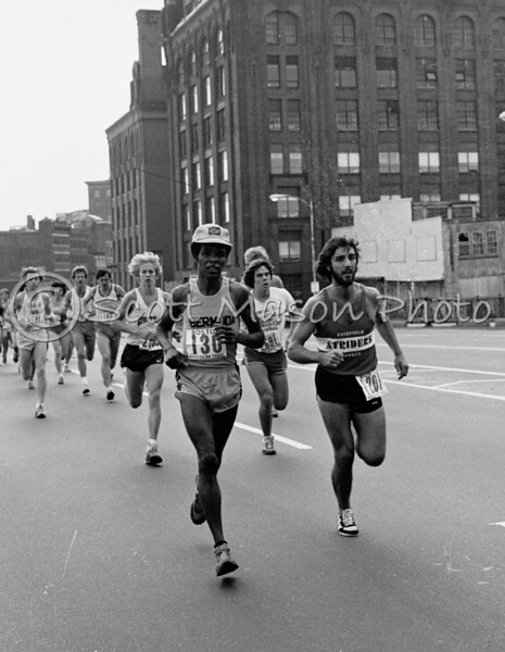 Boston Freedom Trail Road Race 1980