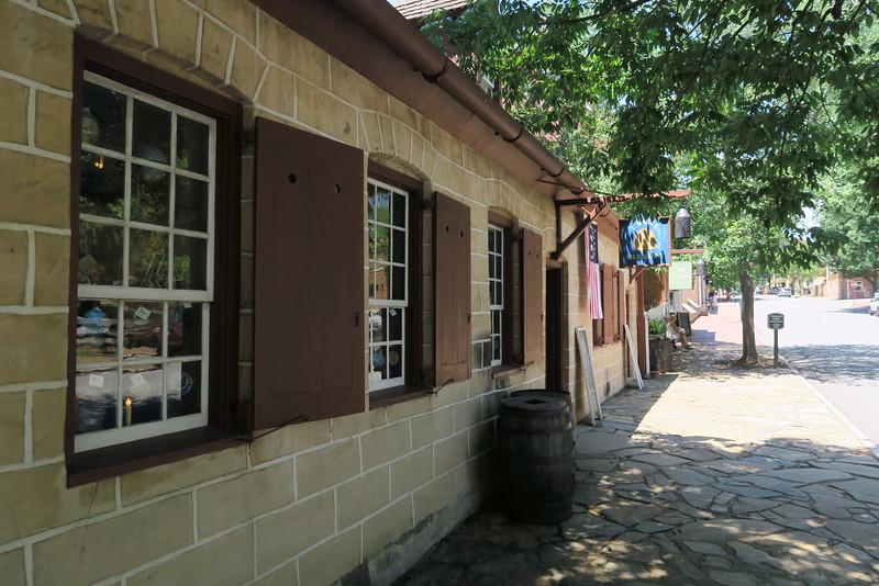 Salem Community Store (ca. 1775) -- Front View