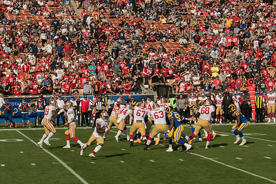 Rams vs. 49ers 2017