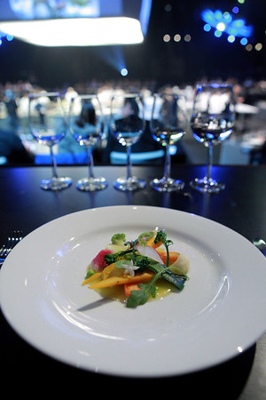 Plated Dishes - French Masters Dinner
