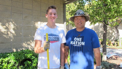 LCE Provides Fall Clean-Up Team