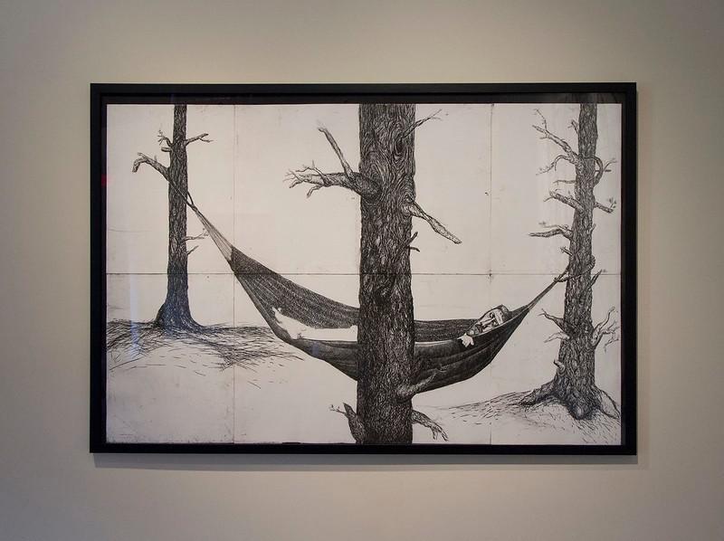 Daniel Heyman, Summer, Fall, Winter, Spring, May 2013, Installation View