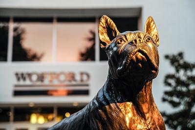 Terrier Statue