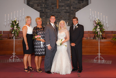 Bennett-Schulte Wedding - Post-Ceremony