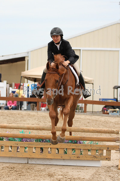 "Hunter Ring: 2'6"" Fences/Flat Classes"