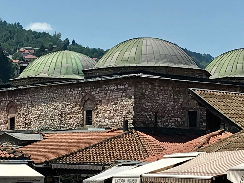 in the Ottoman quarter, Sarajevo