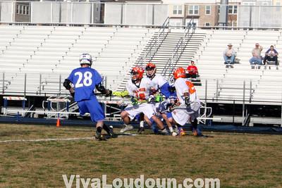 JV Boys Lacrosse: Tuscarora HS at Briar Woods HS 4.10.14 by Hanna Duenkel