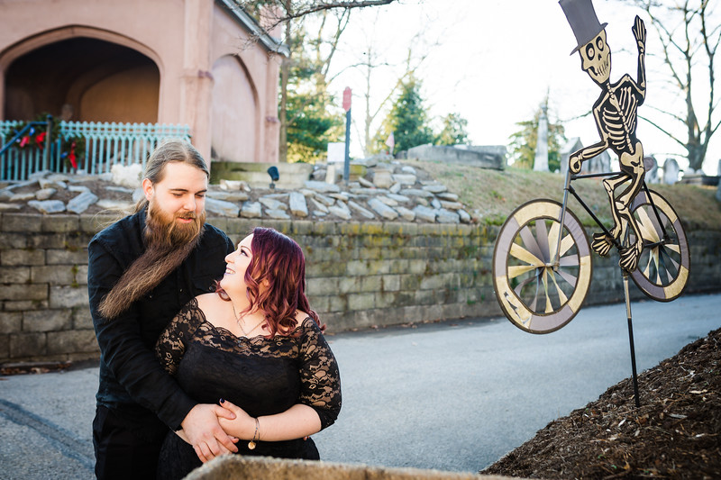 KELLSIE AND TYLER - LAUREL HILL CEMETERY - ENGAGEMENT PHOTOGRAPHY-16.jpg