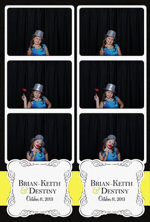 Brian & Destiny's Wedding 10.11.13