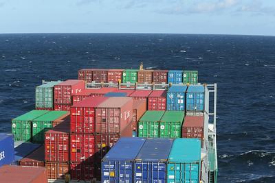 2012 10 08 Reise mit Containerschiff auf der Ostsee