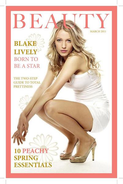 Magazine pt 1 (InDesign & Photoshop)