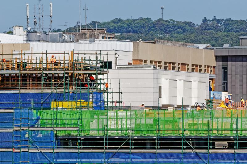 Gosford Hospital building progress  October 30, 2018.  (h63ed)
