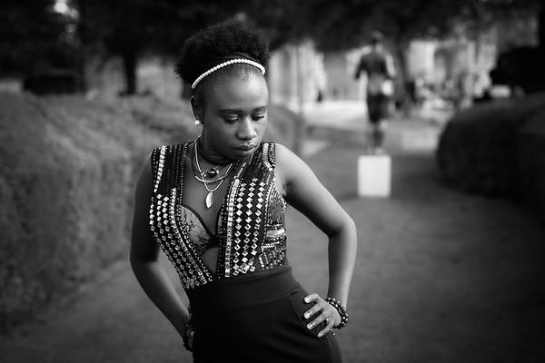 Kimbelya, Un Jour de Septembre 2017,Au Palais Royal